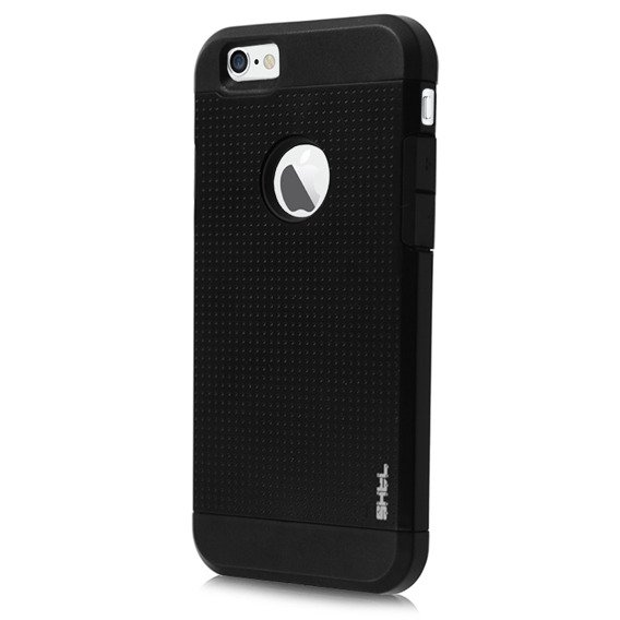 SHTL Dotted Armor Case for iPhone 6 4.7 - Coal Black