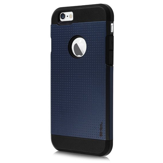 SHTL Dotted Armor Hülle für iPhone 6 4.7 - Navy Blau