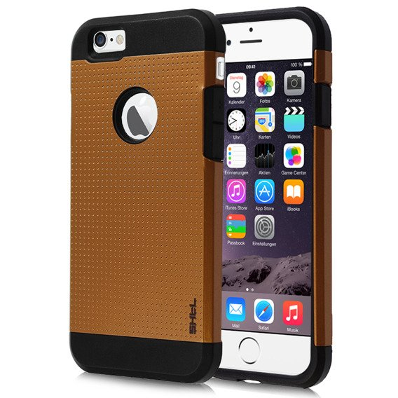SHTL Etui Dotted Armor iPhone 6 4.7 - Copper Gold