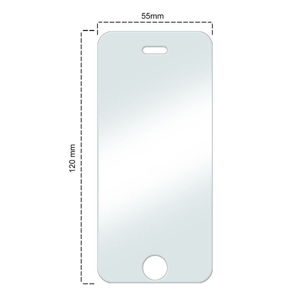 tempered glass screen protector iphone 5 premium tempered glass screen protector for iphone 5 5s se 2140