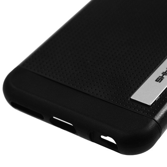 SHTL Dotted Stand Armor Case for iPhone 6 PLUS 5.5 - Coal Black