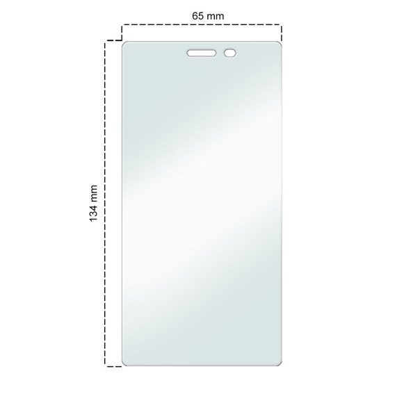 SHTL Premium Tempered Glass Screen Protector for Sony Xperia M2