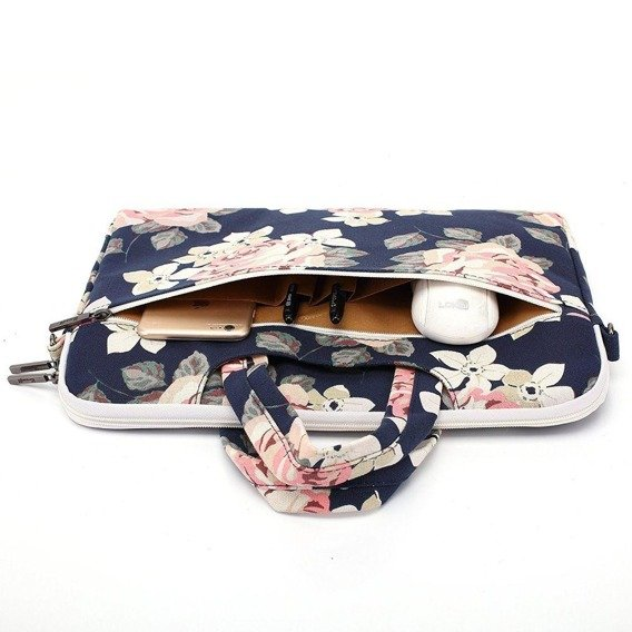 CANVASLIFE Briefcase Etui na laptopa 14 cali - Blue