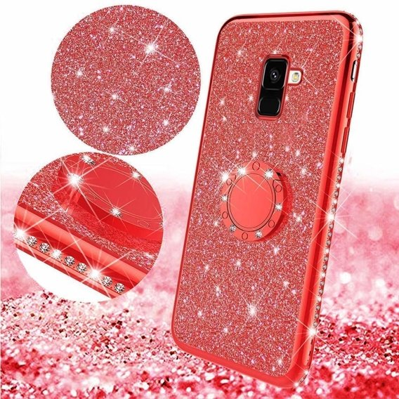 Etui Bling do Samsung Galaxy S9, Red