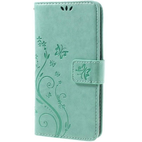 Etui Butterfly Flexi Book Samsung Galaxy J5 2016 - Zielony