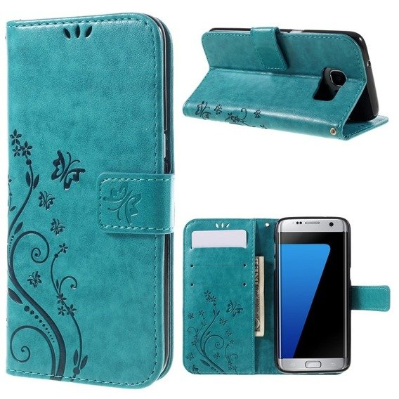 Etui Butterfly Flexi Book Samsung Galaxy S7 Edge - Blue