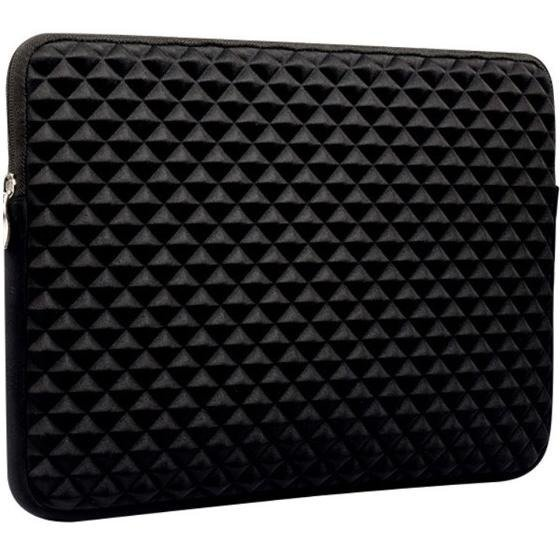 Etui Diamond 3D do MACBOOK AIR/PRO 13, Sleeve Case, Black
