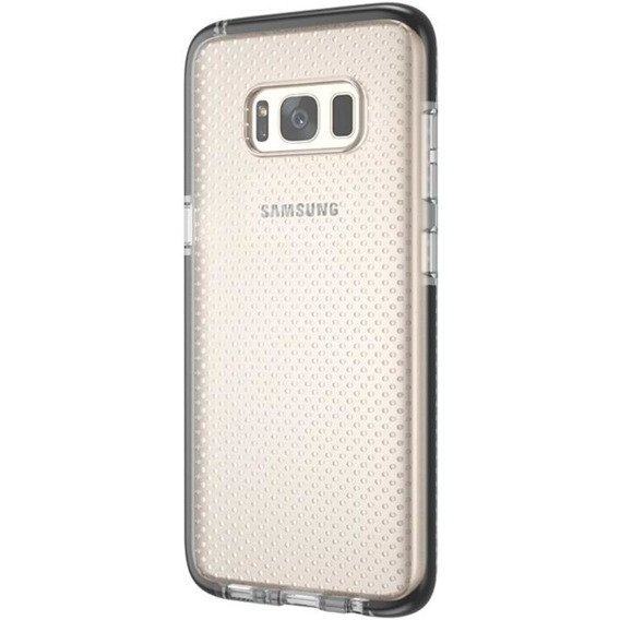 Etui Dots Gel Samsung Galaxy S8 Plus - Clear/Black