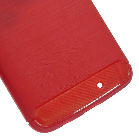 Etui ERBORD Karbon do Motorola Moto X4 – Red