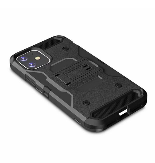 Etui ERBORD SHOCK do iPhone 11 - Carbon Black