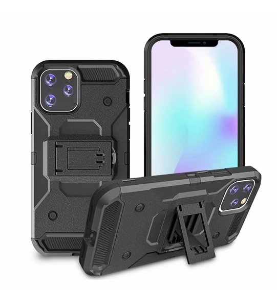 Etui ERBORD SHOCK do iPhone 11 Pro Max - Carbon Black