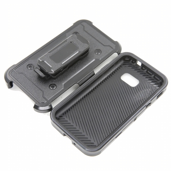 Etui ERBORD Shock do Samsung Galaxy Xcover 4/4S - carbon black