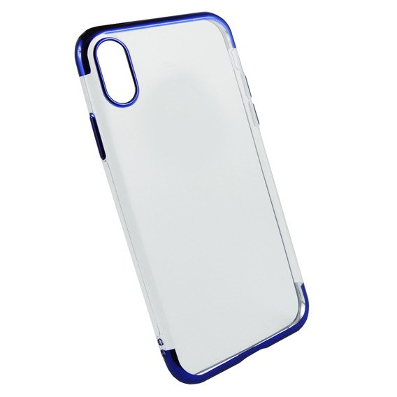 Etui Electro Jelly Case iPhone XR - Blue