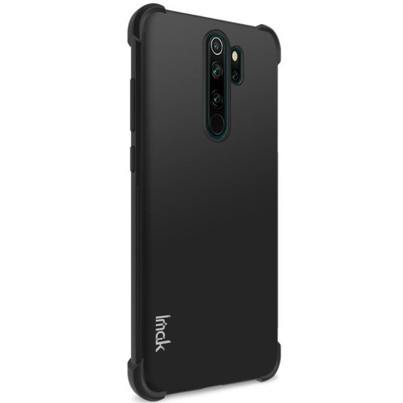 Etui IMAK do Xiaomi Redmi Note 8 Pro, Dropproof, Metal Black