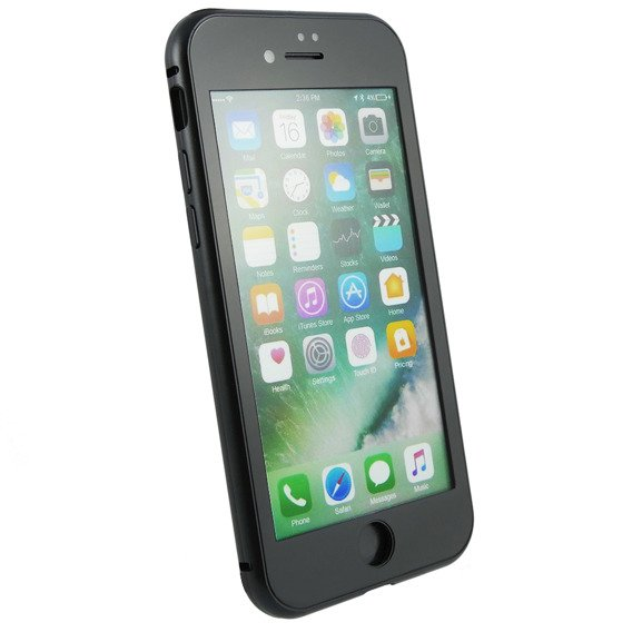 Etui Magnetic Dual Glass do iPhone 8/7 4.7 - Black