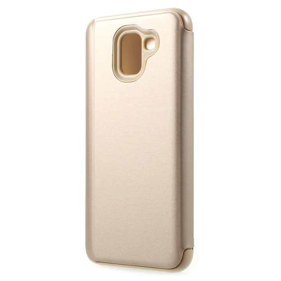 Etui Mirror View Case do Samsung Galaxy J6 2018 - Gold