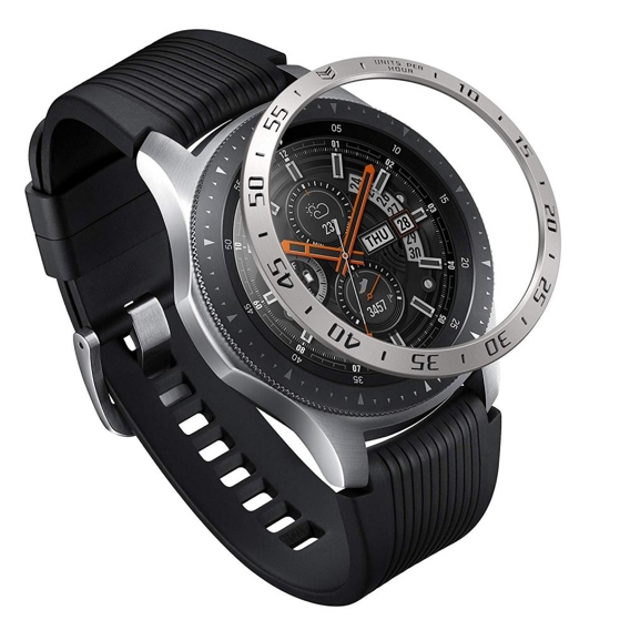 Etui RINGKE do Samsung Galaxy Watch 46mm, Bezel Styling, Stainless Silver