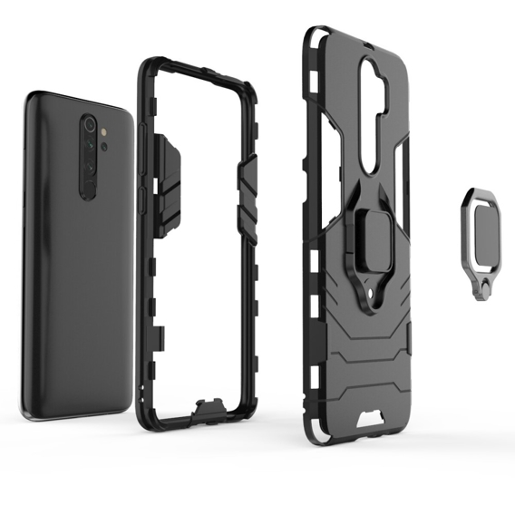 Etui Ring Stand do Xiaomi Redmi Note 8 Pro - Black