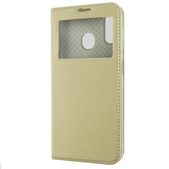 Etui Smart Look View Cover do Samsung Galaxy A20 / A30 - Gold