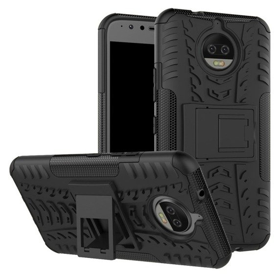 Etui Tire Armor do Motorola Moto G5S Plus, Black
