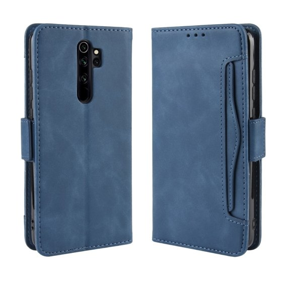 Etui Wallet do Xiaomi Redmi Note 8 Pro, Card Slot, Blue