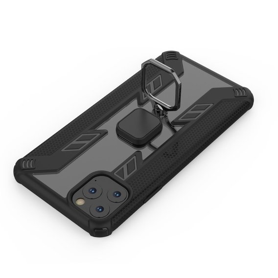 Etui Warrior Ring Case do iPhone 11 Pro Max - Black