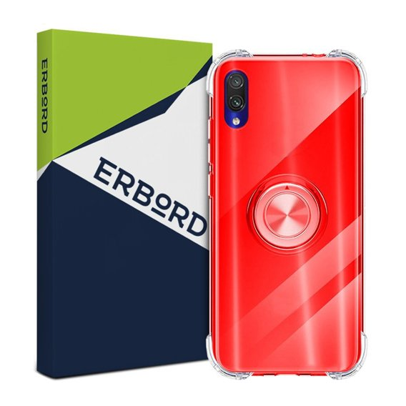 Etui do Huawei Y5 2018 - ERBORD Airbag Ring - Red