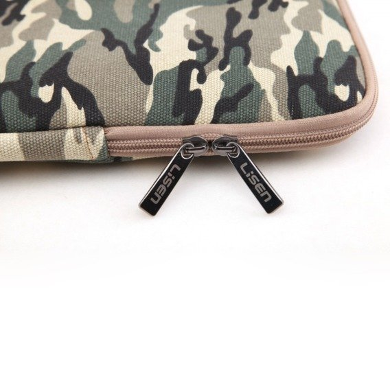 LISEN Etui Sleeve Bag do MACBOOK AIR/PRO 13 - Camouflage Brown