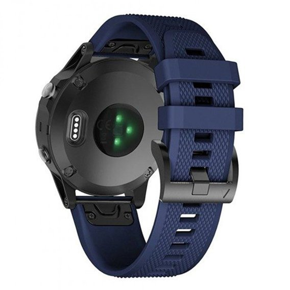 Pasek Smooth do Garmin Fenix 3/5X/3HR/5X Plus/6X/6X Pro - Navy Blue