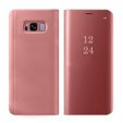 Etui Clear View do SAMSUNG Galaxy S8 - Rose Gold